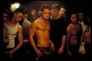 Brad Pitt Fight Club Ideal Body