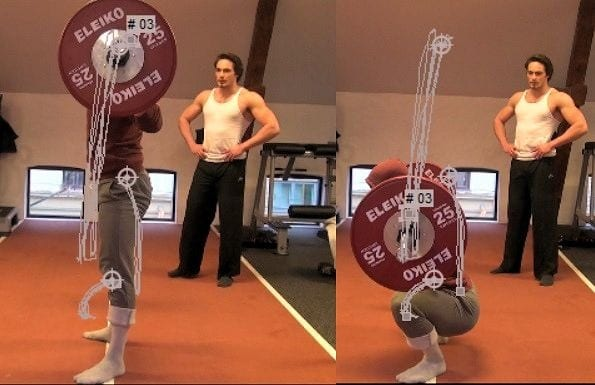 bodybuilding coach motion tracking