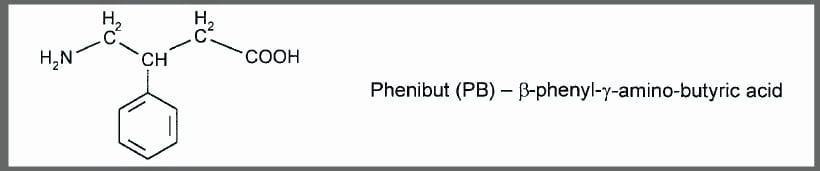 Phenibut Structure
