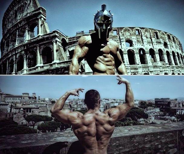 Tavi Castro Roman Bodybuilding