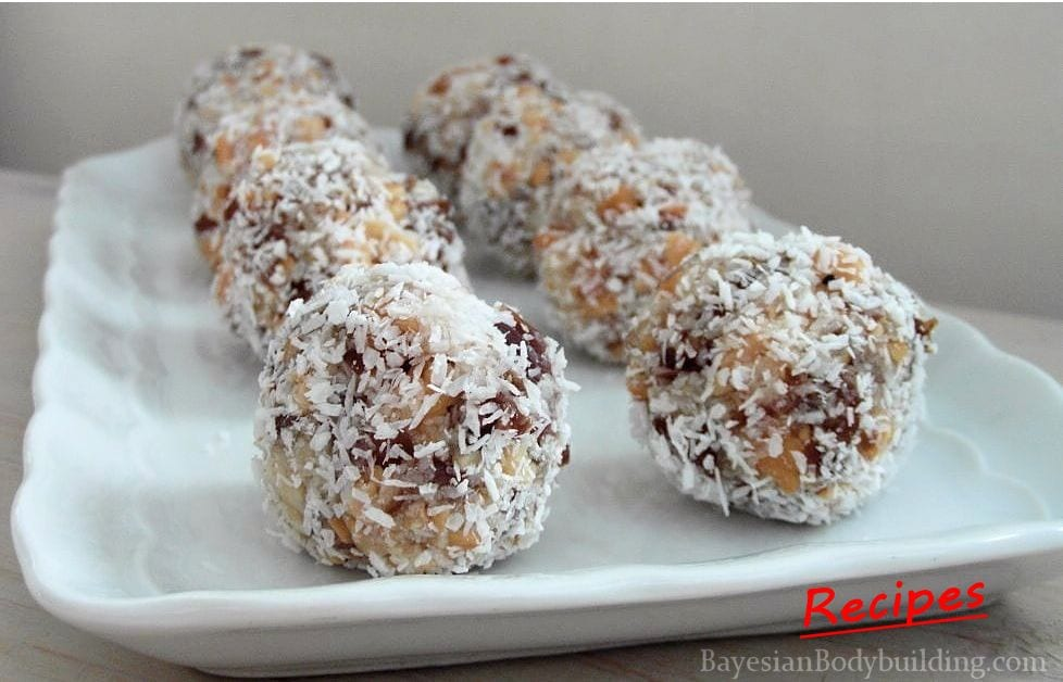 High Calorie Healthy Snack: Oriental Truffles
