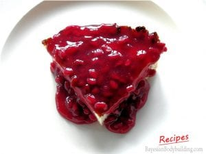High Protein Low Calorie Cheesecake