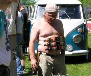 Beer belly six-pack