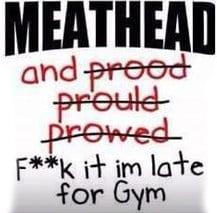 Meathead bodybuilder