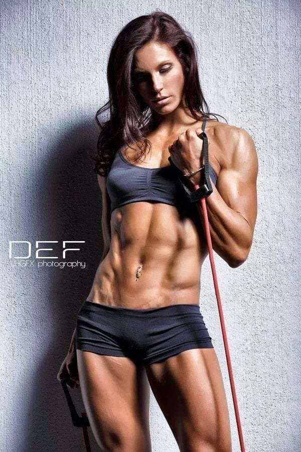 female fitness model 1 bayesian bodybuilding