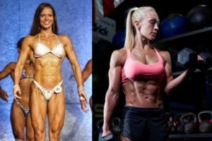 Lonnie and Jessica natural muscular potential women