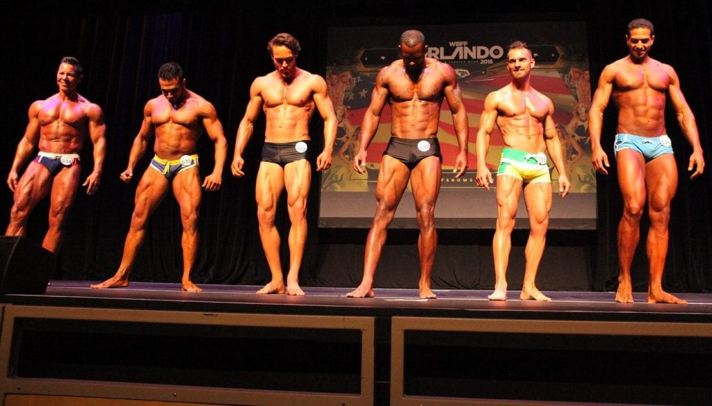 Menno Henselmans WBFF Men's Fitness Model line-up