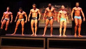 Menno Henselmans WBFF Men's Fitness Model line-up
