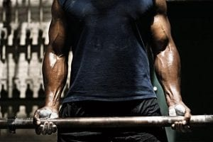 Male fitness model wallpaper