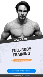 Menno Henselmans fullbody training podcast