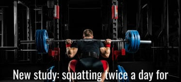 Twice daily training for greater squat ft